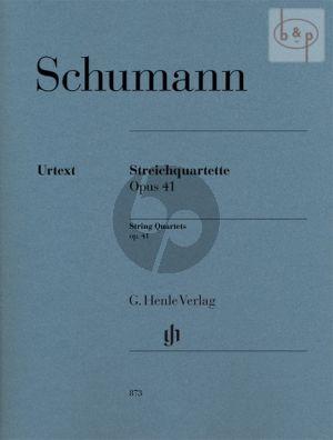 Quartets Op.41 2 Vi.-Va.-Vc. (Parts)