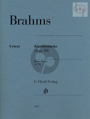 Klavierstucke Op.118 (edited by Katrin Eich)