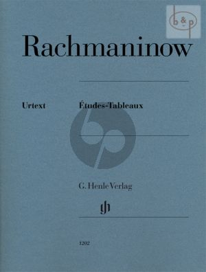 Rachmaninoff Etudes-Tableaux for Piano (edited by Dominik Rahmer) (Henle-Urtext)
