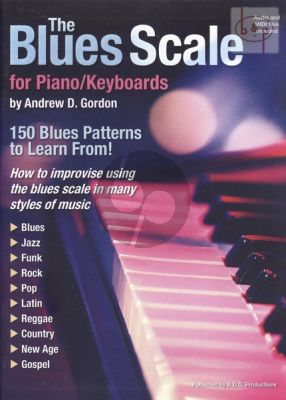 The Blues Scales for Piano-Keyboards