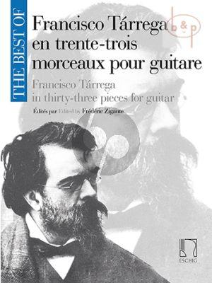 The Best of Francisco Tarrega for Guitar