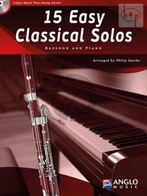 15 Easy Classical Solos Bassoon and Piano