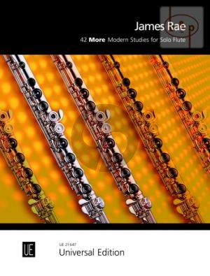42 More Modern Studies for Flute