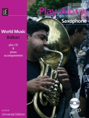 World Music Balkan Play-Along (Alto Sax.-Piano) (Bk-Cd)
