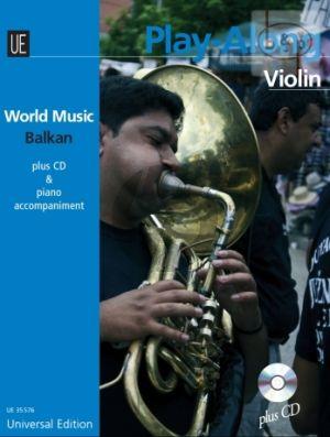 World Music Balkan Play-Aong (Violin-Piano) (Bk-Cd)