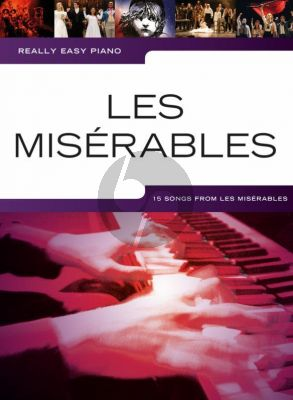 Really Easy Piano Les Miserables (15 Songs)