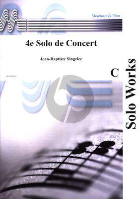 Singelee Solo de Concert No.4 Op.84 Tenorsaxophone[Clarinet]-Piano