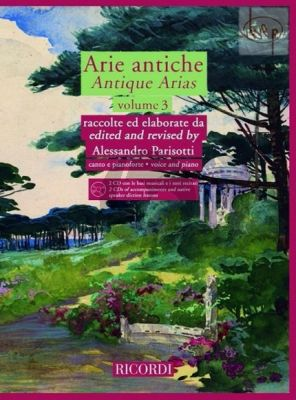 Arie Antiche Vol.3 (Voice-Piano)