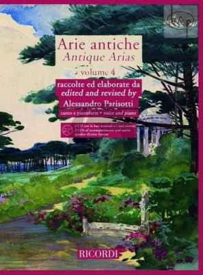 Arie Antiche Vol.4 (Voice-Piano)