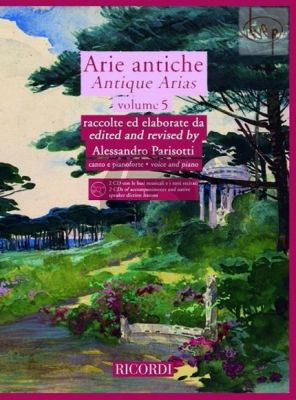 Arie Antiche Vol.5 (Voice-Piano)