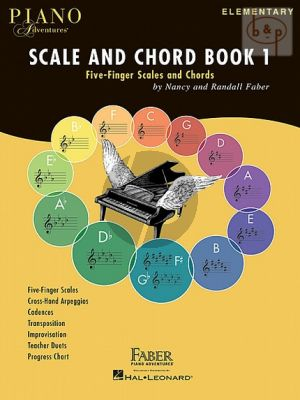 Faber Piano Adventures Scale and Chord Book 1 (elementary level)