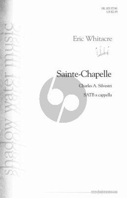 Whitacre Sainte-Chapelle SSATB a Cappella