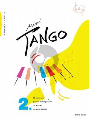 Mini Tango Vol.2 for Piano 6 Hds