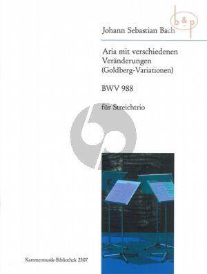 Goldberg Variationen BWV 988 Vi.-Va.-Vc.