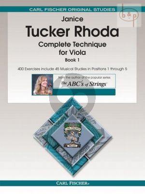 Complete Technique for Viola Vol.1
