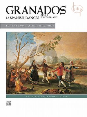 12 Spanish Dances Op.5 for Piano