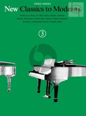 New Classics to Moderns Vol.3
