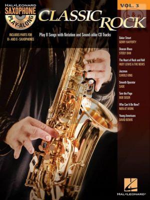 Classic Rock (8 Hits) (Saxophone Play-Along Series Vol.3)