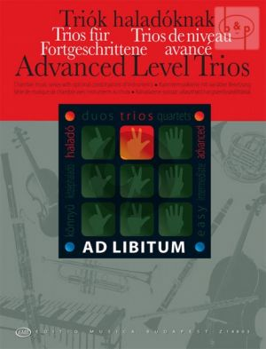 Advanced Level Trios for mixed chamber ensemble in any combination