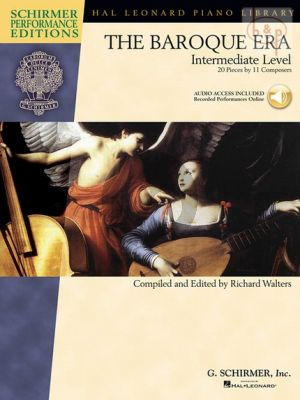 The Baroque Era (20 Pieces by 11 Composers) (edited by Richard Walters)