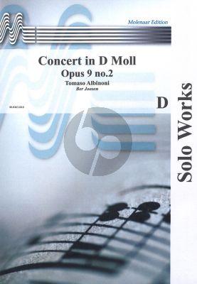 Albinoni Concerto d-minor Op.9 No.2 Oboe / Clarinet/ Soprano Sax and Piano