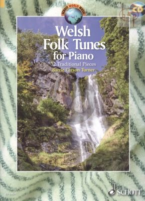 Welsh Folk Tunes for Piano (32 Traditional Pieces)