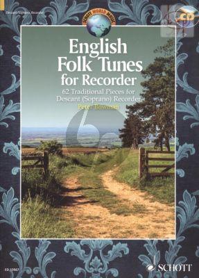 English Folk Tunes for Recorder (62 Traditional Pieces) (Descant Rec.)