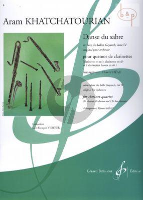Danse du Sabre (3 Clar.[Bb]-Bass Clar.) (Score/Parts) (transcr. Florent Heau)