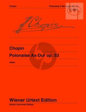 Polonaise A-flat major Op.53