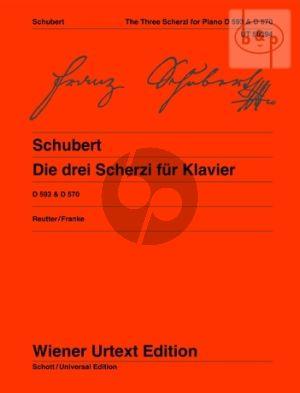 3 Scherzi (D.593 1 - 2 /D.570) (edited by Jochen Reutter)