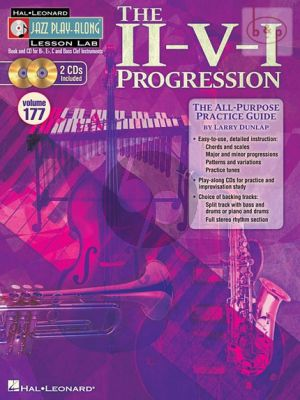 The II-V-I Progression (Jazz Play-Along Series Vol.177)