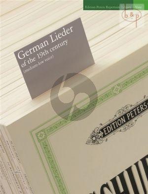 German Lieder of the 19th. Century