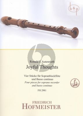 Joyful Thoughts Descant Recorder-Bc