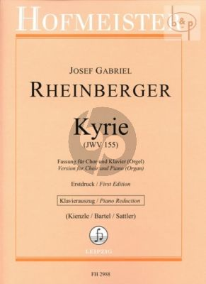 Kyrie a-minor (JWV 155) (SATB-String Orch.) (red. with organ)