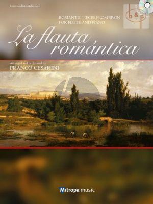 La Flauta Romantica (Romantic Pieces from Spain) (Flute-Piano) (Bk-Cd)