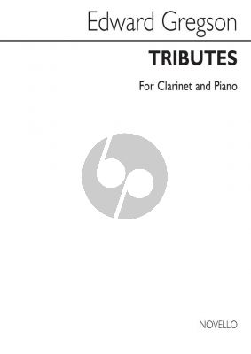 Gregson Tributes Clarinet and Piano