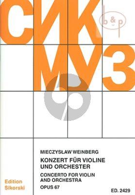 Concerto Op.67 Violin-Orchestra Study Score