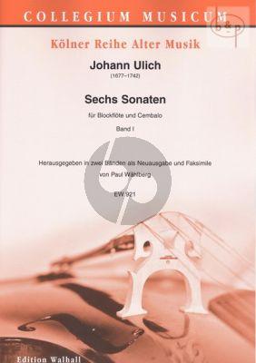 6 Sonaten Vol.1 (No.1 - 3)