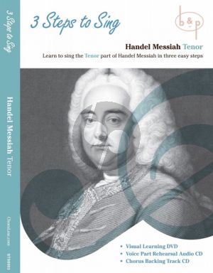 Messiah 3 Steps to Sing Handel's Messiah Tenor Voice DVD- 2 CD's