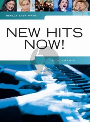 Really Easy Piano New Hits Now!