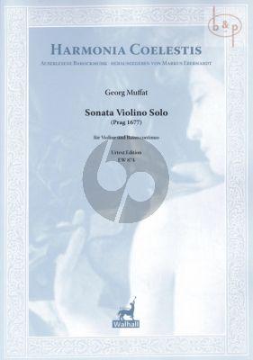 Sonata a Violino Solo (Prag 1677)