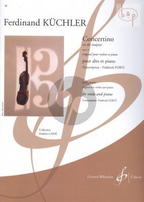 Concertino C-major Op.11 (Viola-Piano)