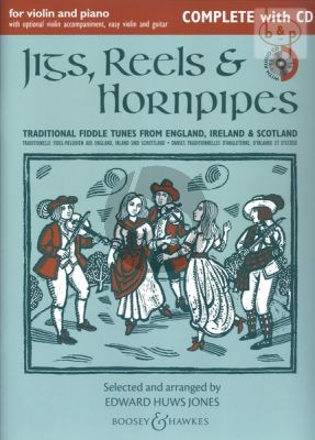 Jigs-Reels & Hornpipes (Traditional Fiddle Tunes from England-Ireland and Scotland)