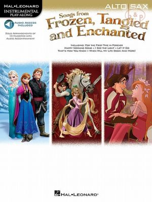 Songs from Frozen-Tangled and Enchanted Alto Sax