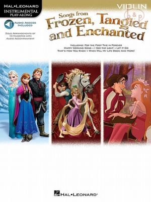 Songs from Frozen-Tangled and Enchanted Violin