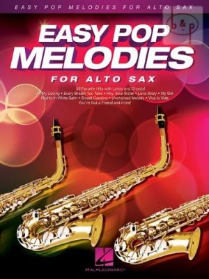 Easy Pop Melodies for Alto Sax.