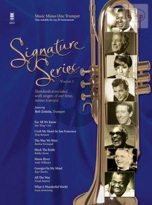 Signature Series Vol.1 Standards with Trumpet (Bob Zottola)