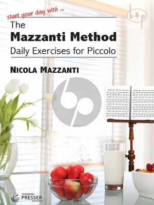 The Mazzanti Method. Daily Exercises for Piccolo