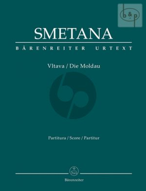 Die Moldau (Vltava) (Orch.) (Full Score)