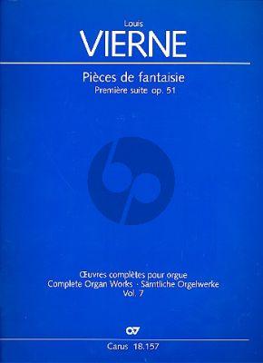 Vierne Pièces de Fantaisie Première Suite Op.51 Orgel (Jon Laukvik / David Sanger)